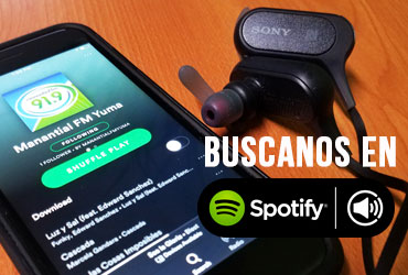 Playlist de Manantial en Spotify